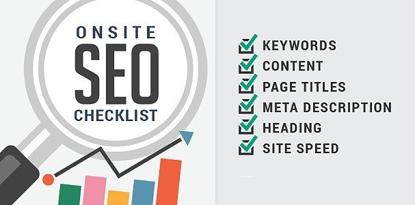 On-Site SEO Checklist 2019