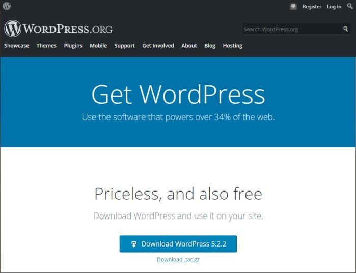 WordPress Software Download